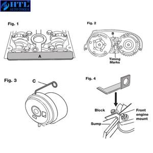 Image 3 - מנוע גל זיזים Tensioning נעילה יישור עיתוי כלי ערכת עבור שברולט אלפא רומיאו 16 V1.6 1.8 אוטומטי תיקון כלי (9pcs)