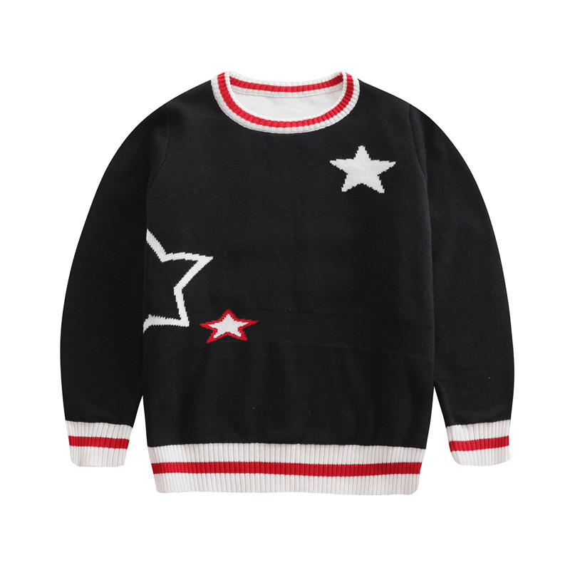 Kids Cardigan Child Sweaters Boys Knitwear Tops Children Girl Pullover Knit Sweater Outfits Jumper Christmas Clothes 3-14 Years