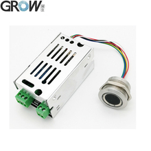 Büyümek K215 V1.3 + R503 normalde açık röle parmak izi erişim kontrol panosu otomobil kontrolü erişim kontrolü