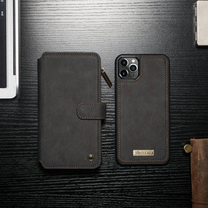 Image 5 - CaseMe Detachable Flip Leather Cases For iPhone 12 mini 11 Pro Business Wallet Phone Cover For iPhone 12 11Pro Max SE 2020