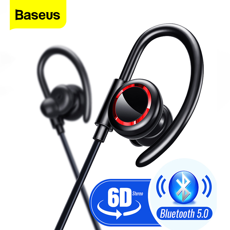 Baseus S17 Sport Wireless Earphone Bluetooth 5 0 Earphone Headphone For Xiaomi iPhone Ear Phone Buds Handsfree Headset Earbuds
