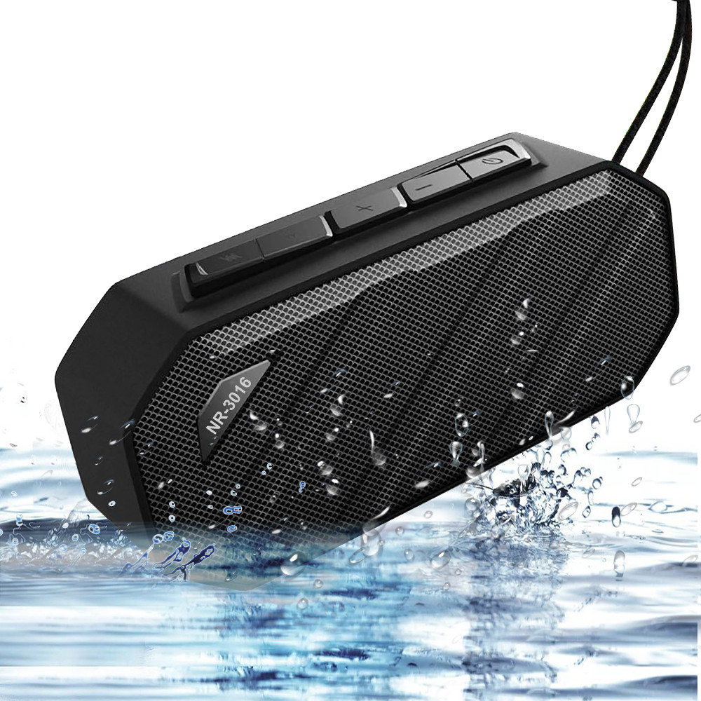 Portable Bluetooth <font><b>Speaker</b></font> Waterproof <font><b>Speaker</b></font> Post Mini Wireless Bluetooth <font><b>Speaker</b></font> Bass Sound FM Radio for xiaomi huawei sony image