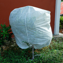 180cm Plant Freeze Protection Covers Reusable Eco-friendly Fabric Shrub Frost Jacket Cover with Drawstring