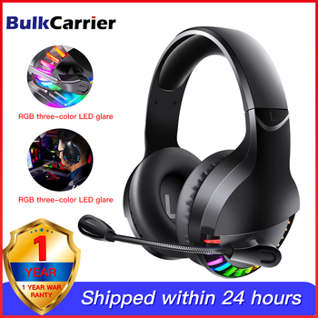 Virtual 7.1 Surround Sound Gaming Headset Led USB/3.5mm Wired Headphone With Mic Volume Control For Xbox PC Gamer