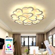 New modern living room LED ceiling lamp bedroom lamp new led pendant lamp indoor pendant lamp remote control APP control lamp