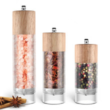 Grinder Mill Salt Seasoning Kitchen-Tools Muller Spice-Sauce Manual Portable And