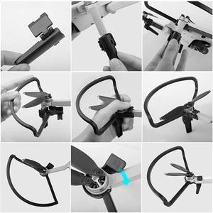 Image 5 - SUNNYLIFE 4pcs ใบพัด SHIELD Guards แหวน 2pcs EXTENDED Landing Gear ขาสนับสนุน Stabilizers สำหรับ DJI Mavic MINI