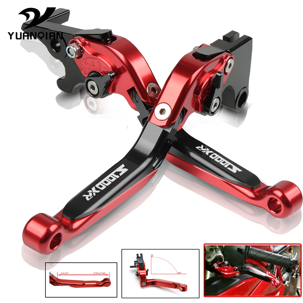 Motorcycle Accessories Aluminum Folding Extendable Adjustable Brakes Clutch Levers For BMW S1000XR <font><b>S</b></font> 1000XR <font><b>S</b></font> <font><b>1000</b></font> <font><b>XR</b></font> 2015-2016 image