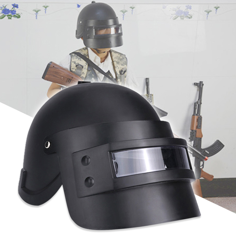 Unique Game Cosplay Mask Battlegrounds Level 3 Helmet Cap Props For PUBG FO Sale