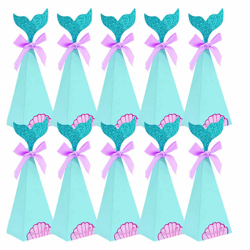 Mermaid Birthday party DIY Glitter mermaid favor bag Mermaid Bag Mermaid printable treat bag Glitter mermaid printable candy bag CU