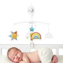 Baby Rammelaars Wieg Mobiles Speelgoed Muziek Educatief Speelgoed Handleiding Roterende Bed Bel Carrousel Babybedjes 0-12M Pasgeborenen