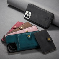Back Cover for iPhone 13 12 11 Pro Max XS XR X SE 2021 8 7 Plus Phone Case wiht Leather Card Holder Magnetic Detachable Wallet Bag