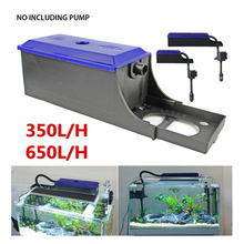 Fish Tank Filter Container Water Box Aquarium External Pump For Circulation System Tools Adjustable Length 24~60cm
