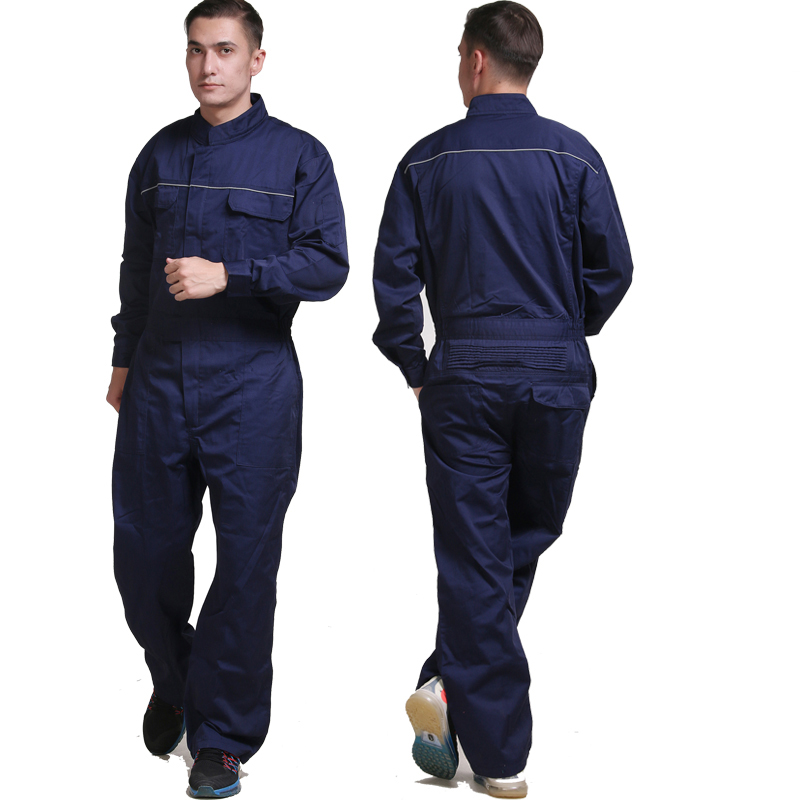 Men Work Overalls Long Sleeve Summer Thin Dust-proof Clothing Wear-resistant Factory Uniforms Labor Working Coveralls Workwear