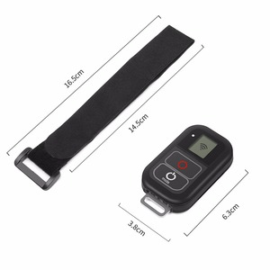 Image 4 - SHOOT for GoPro 8 7 WiFi Remote Control Mount for GoPro Hero 8 7 6 5 Black Waterproof Remoter for Go Pro Hero 7 6 5 Accessories