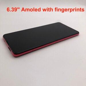 Image 1 - Nowy wyświetlacz AMOLED dla 6.39 Xiaomi Redmi K20 PRO MI9T LCD ekran dotykowy Digitizer odciski palców zgromadzenie dla Xiaomi Mi 9T