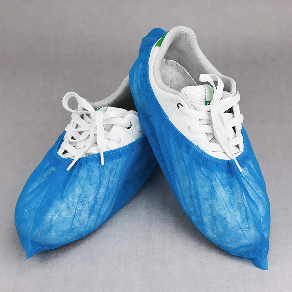 100x Disposable Dust-Proof Shoes Covers for Indoor Home Floors Outdoors