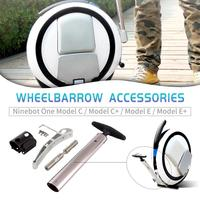 Balance Electric Scooter Trolley Handle With Parking Stand Electric Unicycle Parts For Xiaomi For Ninebot One Model C/C+/E/E+