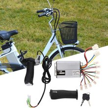 Bike Electric Motor Kit 1000W Motor Brushed Speed Controller with Locking Throttle Twist Grip & Power Display for E-Bike Electri(China)