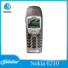 Nokia 6210 renoviert Original Entsperrt Nokia 6210 Mobile Handy 2G GSM 900/1800 Entsperrt Handy Freies verschiffen