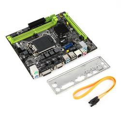 H110MS21151 Máy Tính Bo Mạch Chủ USB Nhanh Hơn Tốc Độ Dữ Liệu 6 Gb/giây Chuyên Nghiệp DIGI + Kỹ Thuật Số Điều Khiển Công Suất