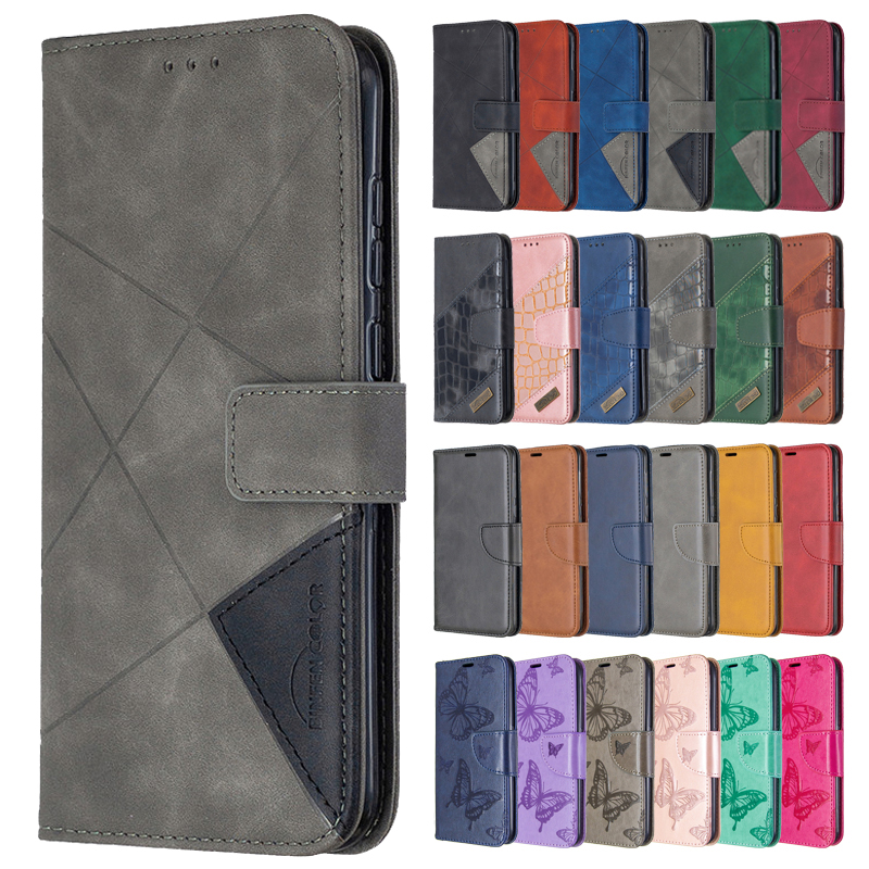 Wallet Flip Case For Samsung Galaxy A12 Cover Case on For Samsung A 12 A125 SM-A125F Magnetic Leather Stand Phone Protective Bag