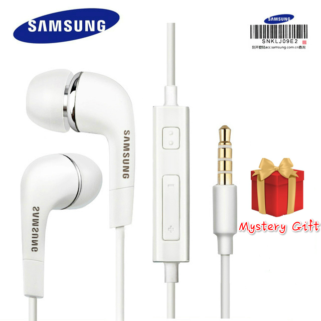 3.5mm Samsung Earphones EHS64 Headsets With Built-in Microphone In-Ear Wired Earphone For Smartphones With Free Gift