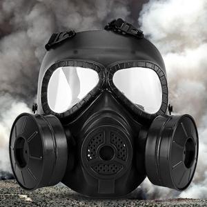 Image 3 - Полнолицевая противогаз, военная реальность, CS полевой защитный шлем, командировочная маска, респиратор, тушь для ресниц, газ, военная маска