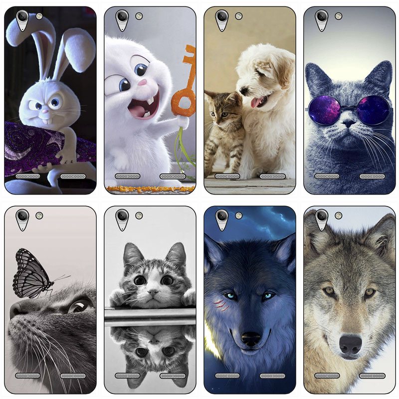 <font><b>Cases</b></font> For <font><b>Lenovo</b></font> Vibe K5 K 5 Print Phone <font><b>Case</b></font> Covers For <font><b>Lenovo</b></font> K5 Plus Lemon 3 A6020 <font><b>A6020a46</b></font> A6020a40 Soft Silicone Skin Shell image