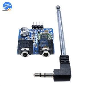 Image 2 - TEA5767 FM Stereo moduł radiowy 76 108MHZ z anteną odwrotna polaryzacja ochrony diody filtrowania czujnik Retro Radio moduł DIY