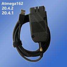 VAGCOM 20.4.1 VAG COM 20.4.2 шестигранный usb-интерфейс для VW AUDI Skoda Seat VAG 19.6.2 ATMEGA162 + 16V8 + FT232RQ многоязычный