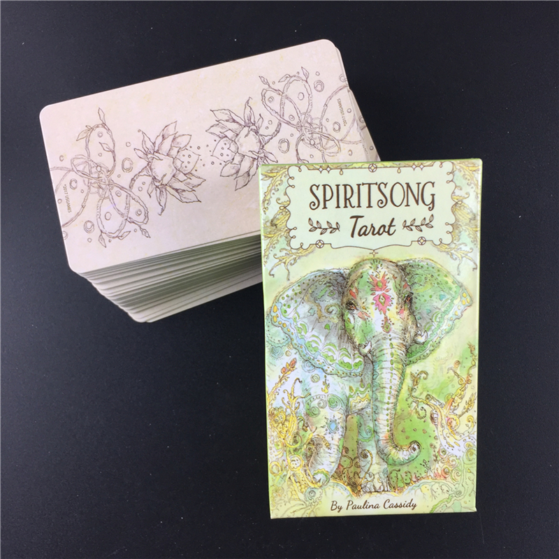 Mysterious Spiritsong Tarot Deck Cards Board Game Party Family Entertainment