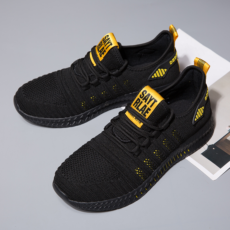 Image 5 - 2019 fashion casual shoes mesh men sneakers Lightweight Lac up Men Shoes Breathable Walking Sneakers KITLELER Zapatillas HombreMens Casual Shoes   -