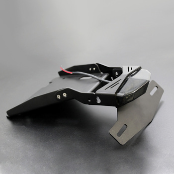 Motorcycle Tail Mount License Plate Bracket Brake Rear Lamp Taillight For Bmw R Nine T 2014-2018 R9t