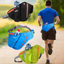 Running Waist Bag Belt Pouch Fanny Pack With Water Bottle Holder Purse Phone Case Sport Bags For Hiking Outdoor Camping Cycling women waist bags sports water bottle holder outdoor running belt bag waist bag backpack key stuff waist pack hiking pockets bag