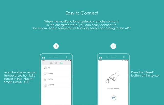 Aqara 스마트 온도 Hu mi dity 센서 공기 압력 환경 센서 Mi Home app와 함께 작동