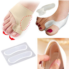 Hallux Valgus Bunion Correction Orthopedic Pad Toe Separator Pedicure เครื่องมือ Bone Thumb Straightener รองเท้าสติกเกอร์ Foot Care(China)