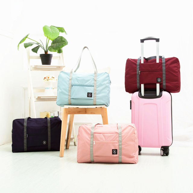 Waterproof Travel Bag Unisex Foldable Duffle Bag Organizers Large Capacity Packing Cubes Portable Luggage Bag Travel Accessories 5