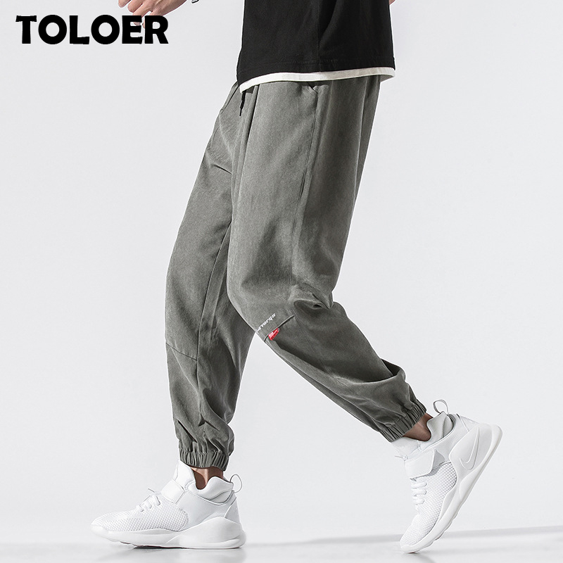 2020 Ankle-length Sweatpants Men Streetwear Fashion Autumn Hip Hop Harem Pants Mens Casual Korean Oversize Joggers Trouers Male