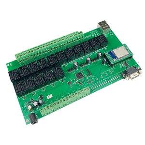 Image 5 - 16 + 8ch ethernet placa pcb kincony módulo de automação residencial inteligente controlador controle remoto 10a relé diy sistema interruptor domotica