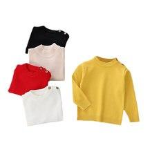Пуловер вязаные свитера для малышей повседневная детская одежда