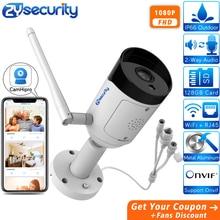 1080p Wifi Bullet IP Camera Outdoor Onvif SD Card Two Way Audio Email Alarm Night Vision CCTV Surveillance CCTV Camera Camhipro