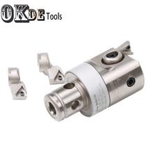 High precision CBH25-47 +3pcs insert holder blade bearing CBH2-2 CBH2-3 boring head finish  0.01mm Grade increase boring cutter