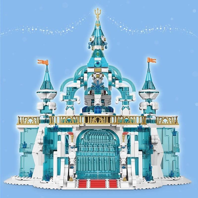 MOULD KING 11007 The MOC Frozen Entrance Model Building Blocks