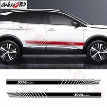 Для peugeot 3008 автомобильный Стайлинг кузова наклейка авто