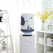 Крышка Диспенсера для воды, ведро, Декор, офисный протектор, эластичный, пыленепроницаемый, аксессуары, мебель, контейнер, домашний питьевой фонтан
