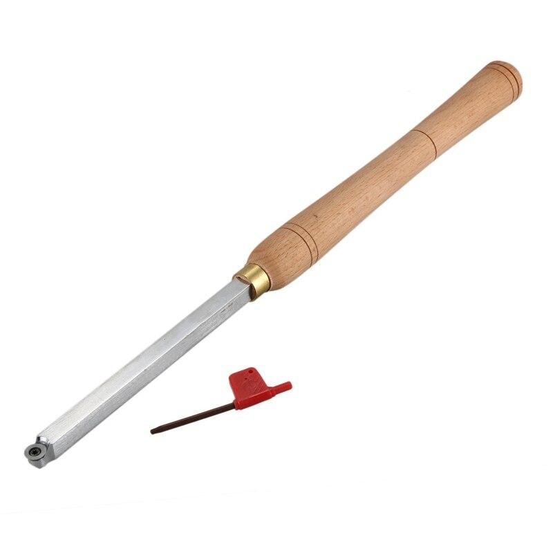 HEIßER-Holzbearbeitung Werkzeug Hartmetall Spitze Holz Drehmaschine Gürtel Runde Hartmetall Schneider Typ: Wood-R6