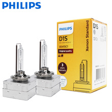2X Philips HID D1S 35W xénon Standard 4200K Auto phare dorigine voiture ampoules dorigine OEM remplacement mise à niveau D1 EC
