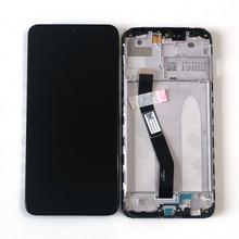 6.22 샤오미 Redmi 8 LCD 디스플레이 스크린 + Redmi 8A 디스플레이 용 프레임이있는 터치 스크린 디지타이저 용 M & Sen