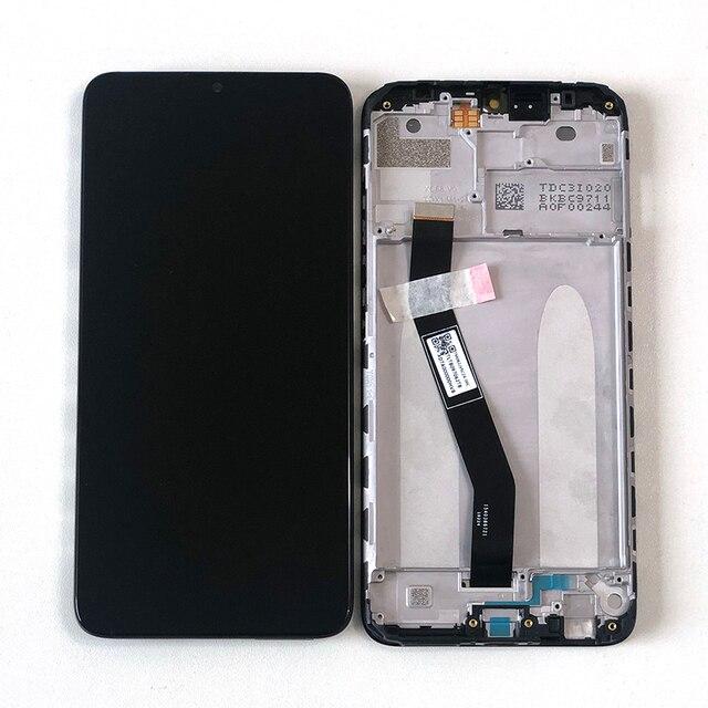 "6.22 ""orijinal M & Sen Xiaomi Redmi için 8 lcd ekran ekran + dokunmatik ekran digitizer için çerçeve ile Redmi 8A ekran"
